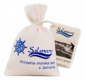 Solmare - prirodna morska sol s Jadrana