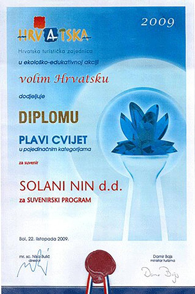 «Plavi cvijet» za najbolji suvenir